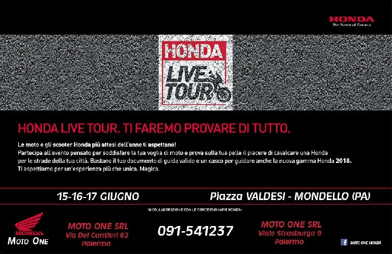 HONDA LIVE TOUR 2018