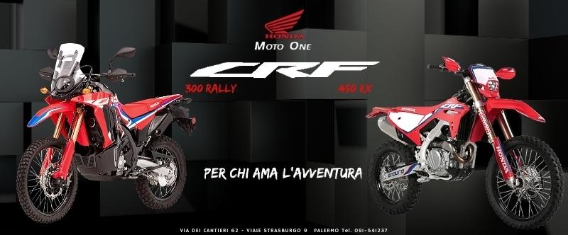 Honda CRF 450 rx  e CRF 300 rally